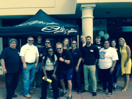Lange Eye Care Gainesville Back to school Bash.